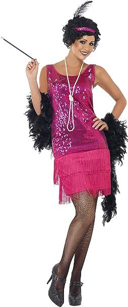Smiffys-22417L Disfraz de chica joven divertida años 20, con ...