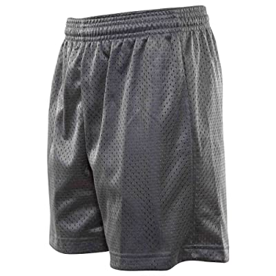 A4 Youth Six Inch Inseam Meshed Shorts Big Kids