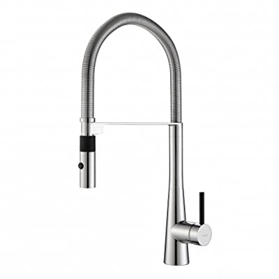 Kraus KPF-2730CH Modern Crespo Single Lever Commercial Style Kitchen Faucet