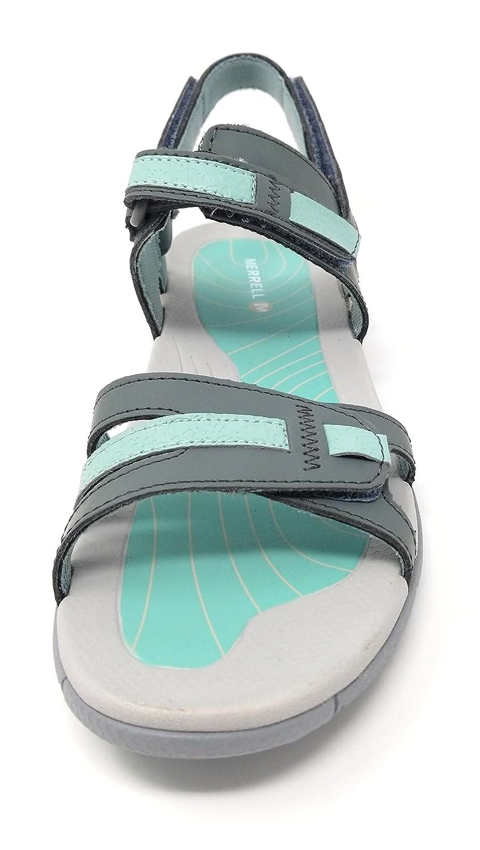 4448a651f2ee Merrell Women s Lissum Ridge Convert Sandal Sedona Blue Surf 6 B (US)   Amazon.in  Shoes   Handbags