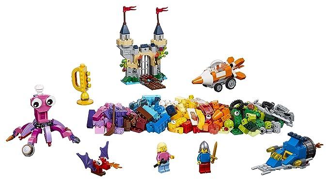 Building & Construction Toys Stacking Blocks Puzzle Building Block Assembly Toys Cartoon Movie Cute Octopus Castle Boat Building Blocks Bricks Toys Submarine Model Kits