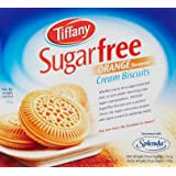 Tiffany Biscuit Sugar free Orange, 162g