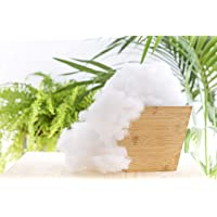 Todocama - Relleno de Microfibra 100% Poliéster - Fibra Hueca siliconada - (1 kg)…