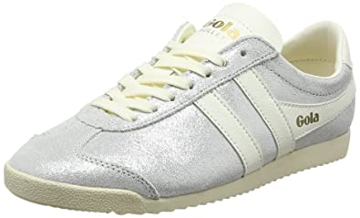 78adeb5882b Amazon.com | Gola Women's Bullet Glitter Trainers, (White OW), 5 UK ...