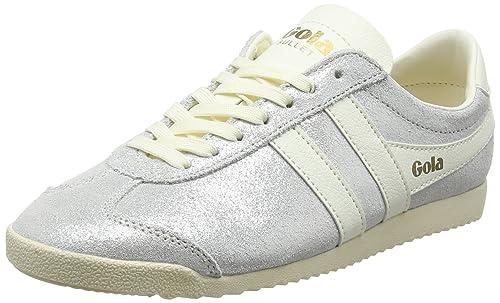 Gola Bullet Glitter Off White, Zapatillas para Mujer: Amazon.es: Zapatos y complementos