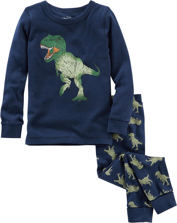 OshKosh BGosh Boys 2-Piece Snug fit Cotton Pajamas Set 6M-14