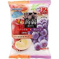 Orihiro Purunto Konnyaku Jelly Pouch ( Apple and Grape), 240G