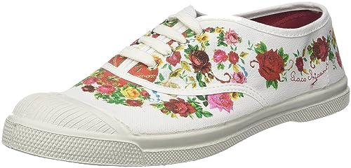 Bensimon Tennis Paco Chicano, Zapatillas para Mujer: Amazon.es: Zapatos y complementos