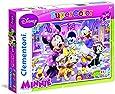 Clementoni 24724.0 - Puzzle Minnie, 2 x 20 Teile