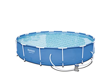 Bestway Steel Pro Piscina Desmontable Tubular, 427 x 84 cm