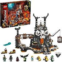 LEGO® NINJAGO® Skull Sorcerer's Kerkers 71722 kerkerspeelset bouwspeelgoed voor kinderen met figuren die je zelf kunt bouwen (1.171 onderdelen)