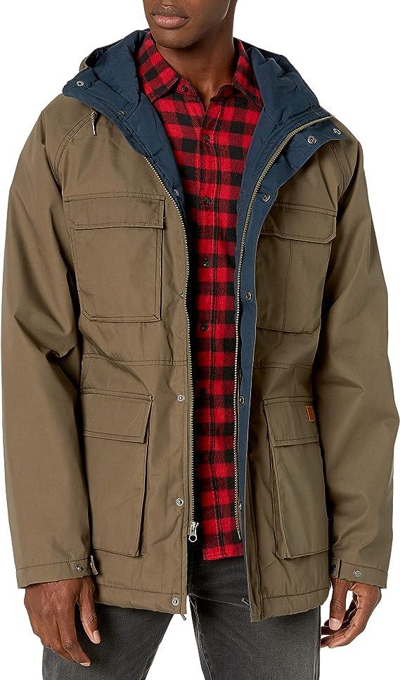 Volcom Men's Renton Winter Teflon Hooded Parka Jacket