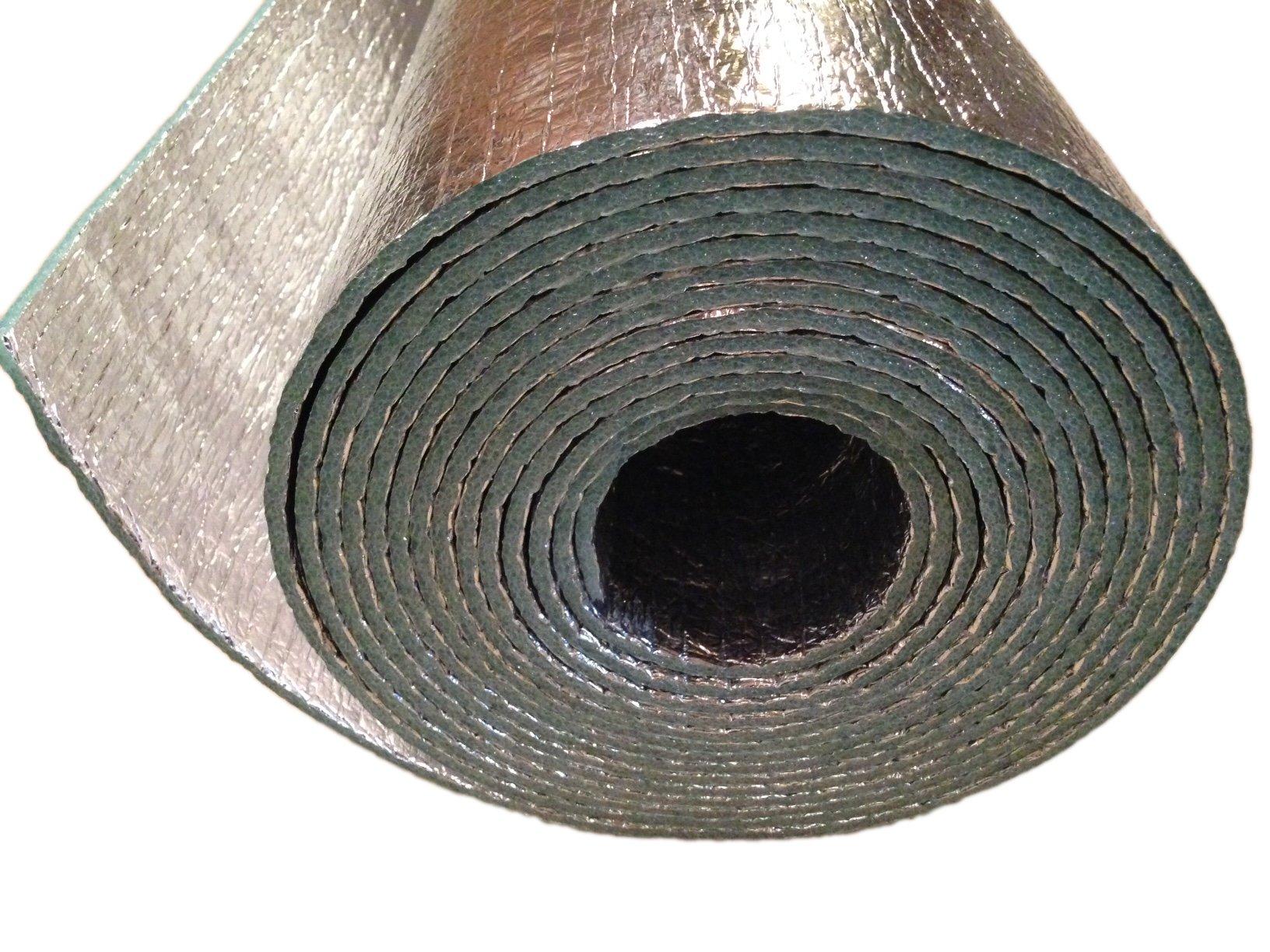 Car Insulation - 4' x 10' Roll (40 Sqft) Sound Deadener & Heat Barrier Mat - Automotive Lightweight Thermal Insulation by Carinsulation.com