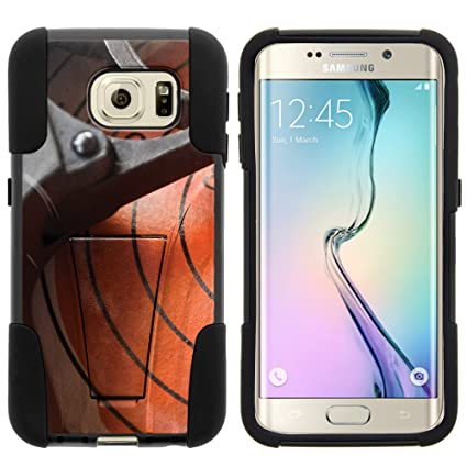 new arrival aea53 b972a Amazon.com: MINITURTLE Case Compatible w/Samsung S6 Edge Case ...