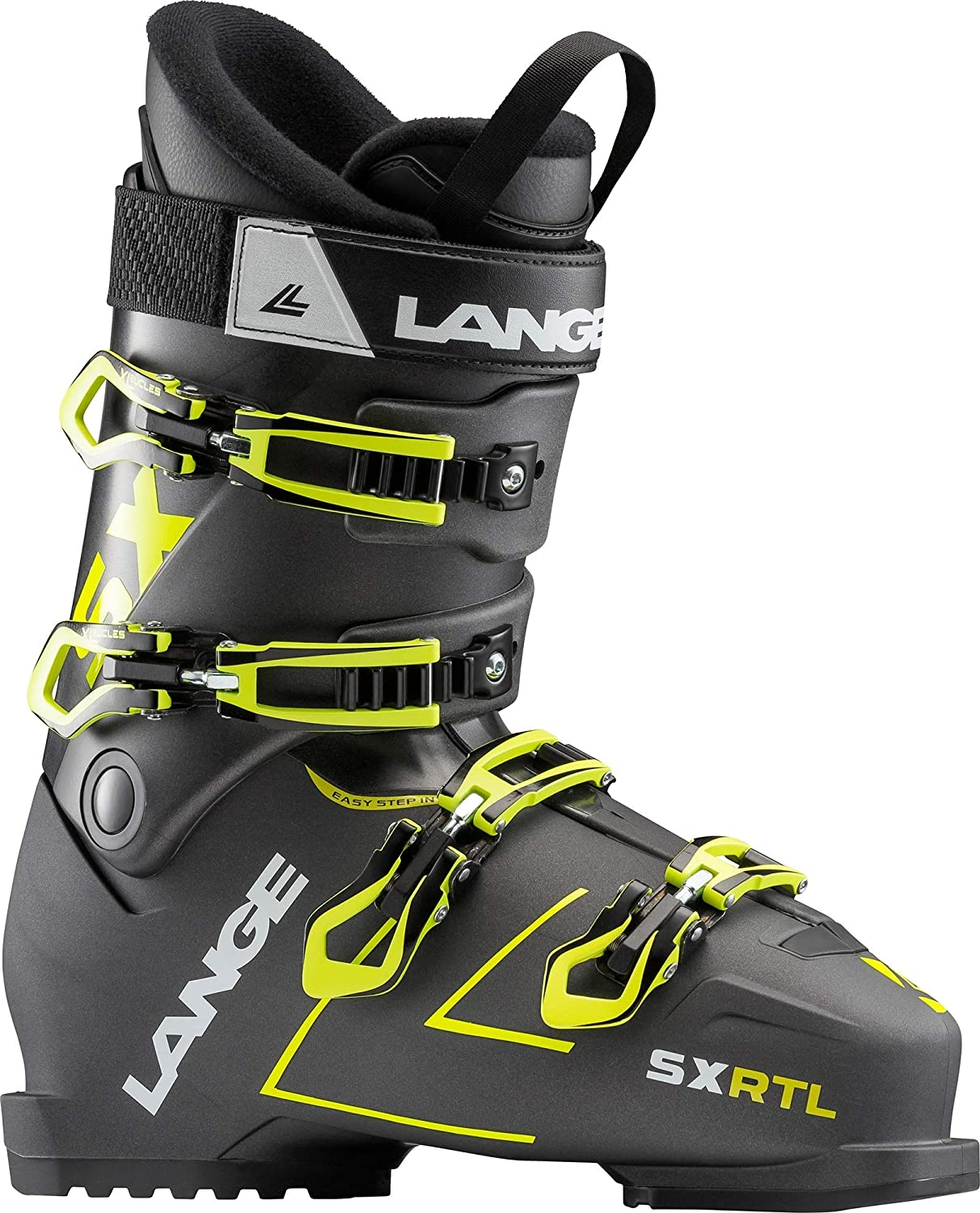 Taille /49 Chaussures De Ski Sx Rtl Anthracite-Yellow Lange Homme Homme Gris