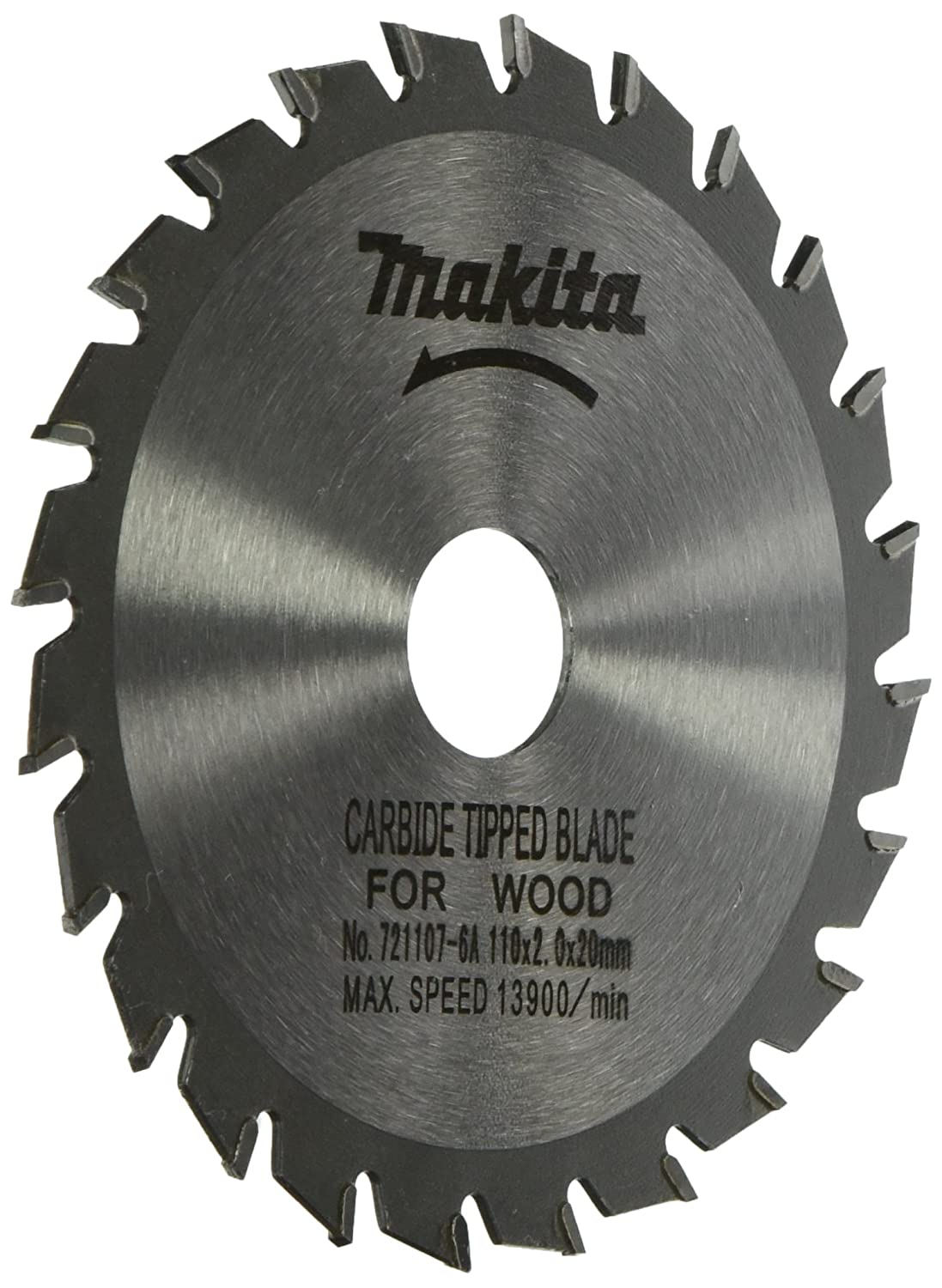 Makita 721107 6a 4 38 inch 24 tooth atb saw blade with 20mm arbor makita 721107 6a 4 38 inch 24 tooth atb saw blade with 20mm arbor circular saw blades amazon greentooth Image collections