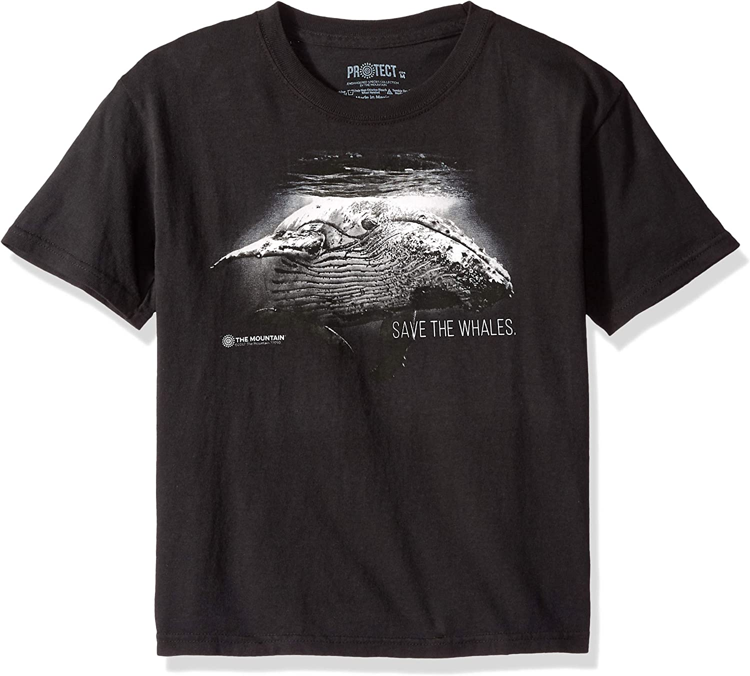 The Mountain Big Wildlife Protection, Save The Whales Kid's T-Shirt