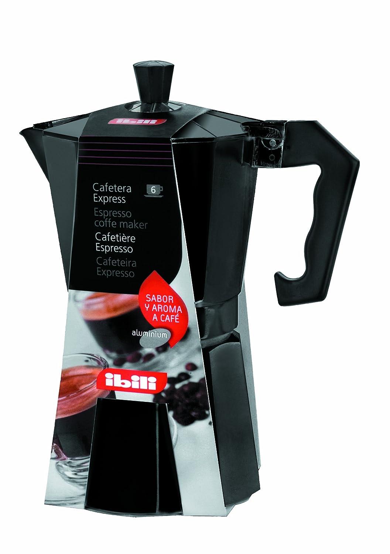 IBILI 612209 - Cafetera Express Negra 9 Tazas