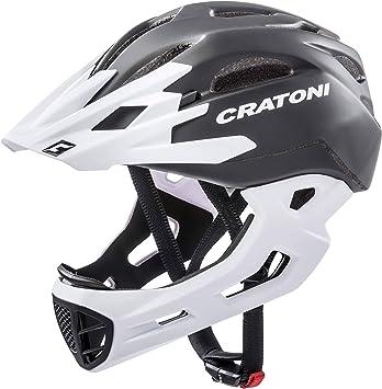 Cratoni C-Maniac-Casco de Bicicleta (Talla S/M), Color Negro ...