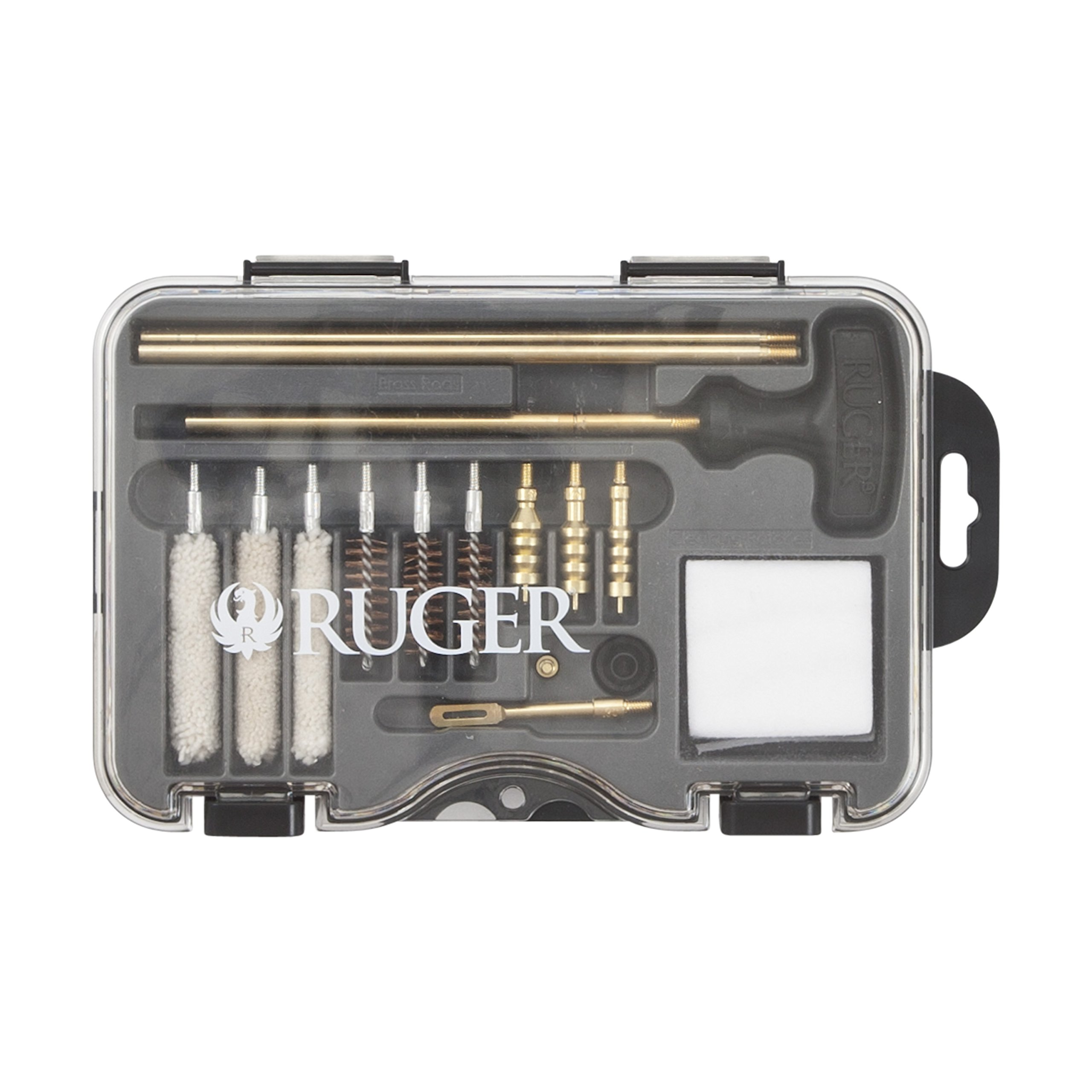 Allen Ruger Universal Handgun Cleaning Kit - .380ACP.357 Magnum, 9mm, 10mm.40 caliber.38 special.44 Magnum and .45 acp