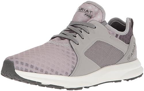 ARIAT Women's Fuse Athletic Shoe, Grey