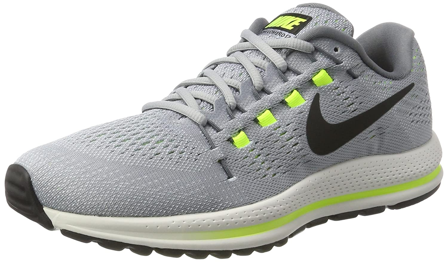 NIKE Men's Air Zoom Vomero 12 Running Shoe B001N6G3ZQ 10.5 D(M) US|Wolf Grey/Black-cool Grey-pure Platinum