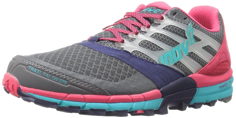 Inov-8 Trailtalon 275-U Trail Runner B01B26SAES 4 Men's/ 5.5 Women's US|Grey/Navy/Pink/Blue