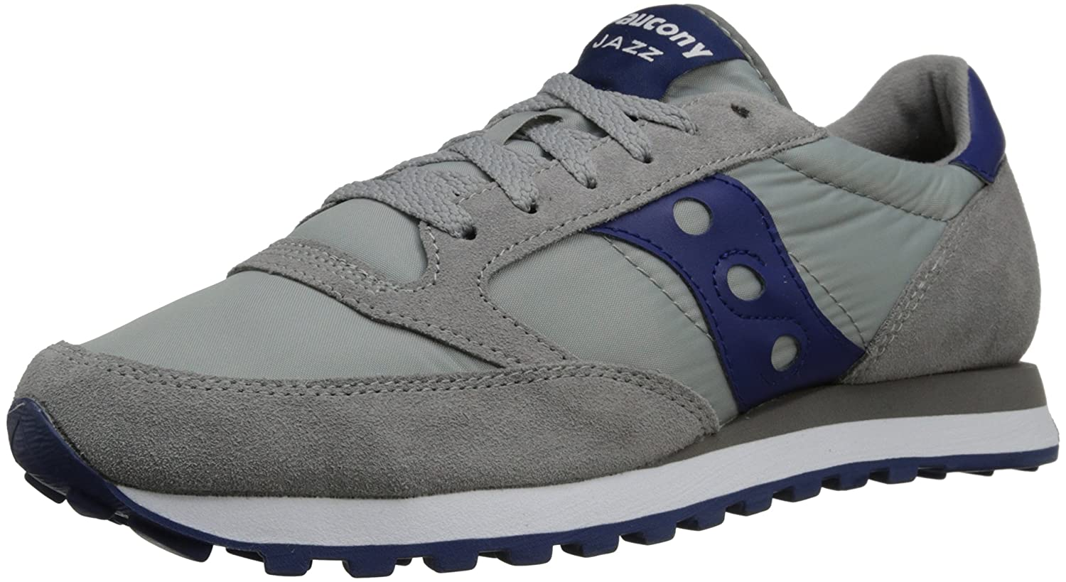 Grey blueee 9.5 D(M) US Saucony Originals Men's Jazz Original Sneaker
