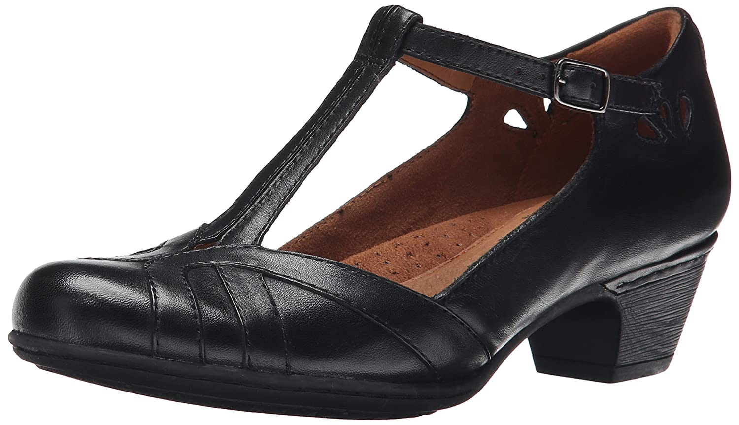 Cobb Hill Rockport Women's Angelina Dress Pump B00SJUPPVW 6 W US|Black