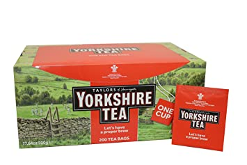Yorkshire tea teapot giveaways