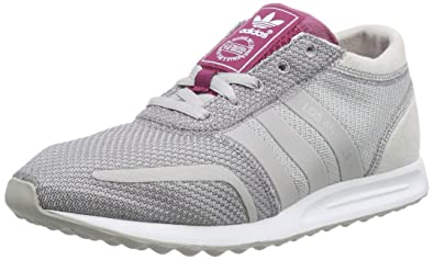 separation shoes 59ee0 b9722 adidas Los Angeles, Baskets Basses Femme, Gris Rose, 36 EU