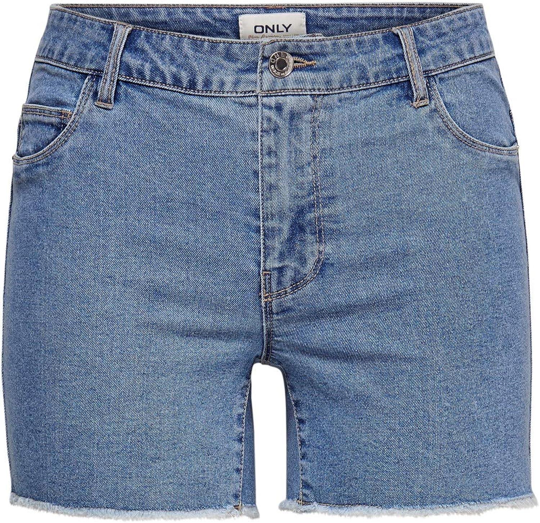 Only Shorts Short Pantaloncini Corti Donna Tendenza Shorts Donna Sun Reg Shorts Box 236