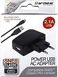 Ardistel - Adaptador Corriente USB 2.1A (Nintendo Super Nes)