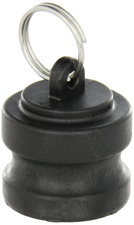 Banjo 200PL Polypropylene Cam & Groove Fitting, Dust Plug, 2' Male Adapter 2 Male Adapter Banjo Corporation