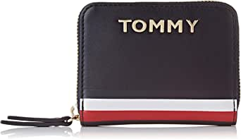 Tommy Hilfiger Corporate Small ZA Wallet, Blue, AW0AW08129