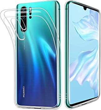 HOOMIL Transparente Silicona Funda para Huawei P30 Pro, Clear ...