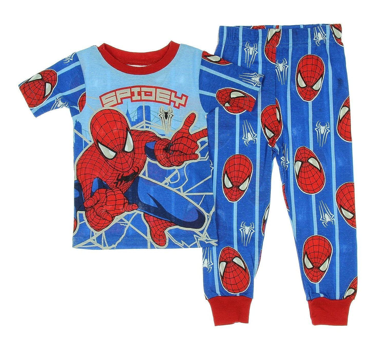Disney Store Marvel Avengers 2 PC Tight Fit Short Sleeve Pajama Set Boy Size 5