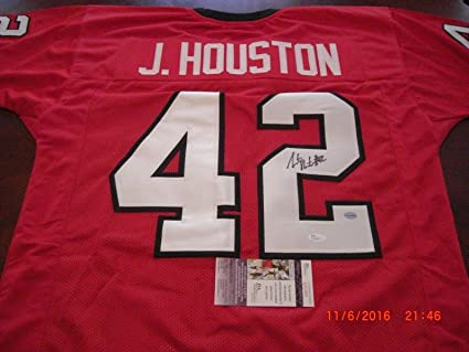 premium selection 05646 06561 Justin Houston Georgia Bulldogs, kansas City Chiefs Gtsm/coa ...
