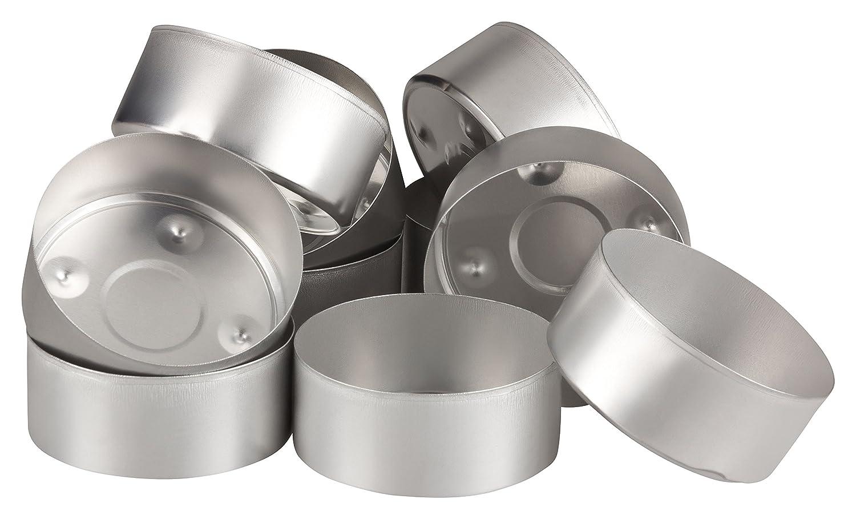 Tanja Schulz Aluminium Klein Teelichthülsen 10 Stück 10