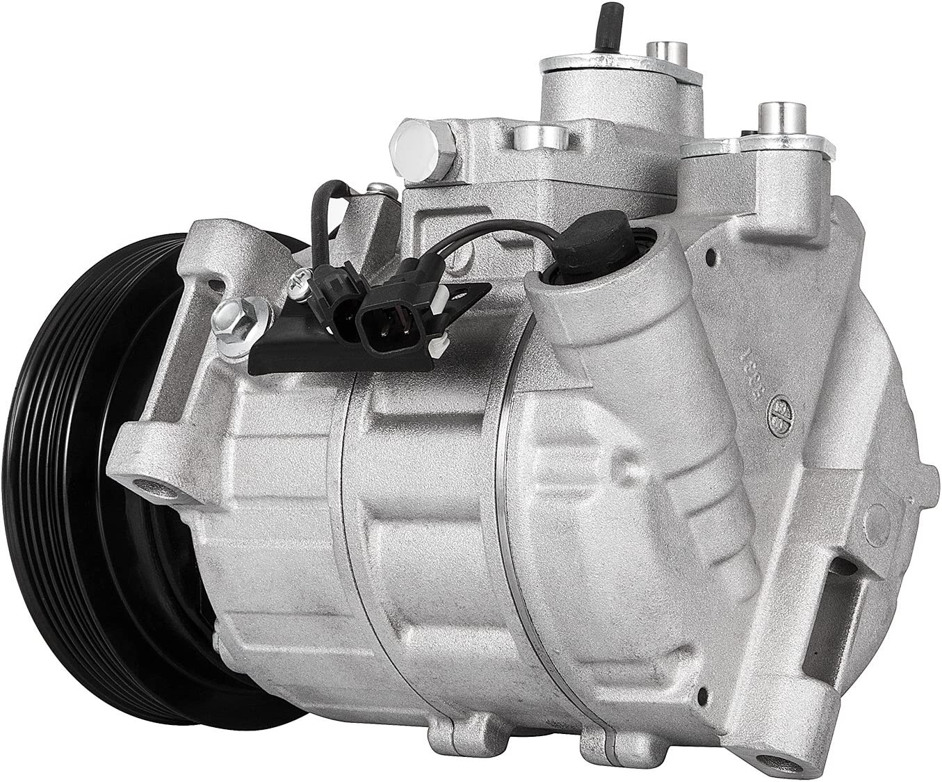 Mophorn CO 11323C 360027460 DCS17E AC Compressor and Clutch for Land Rover LR2/ Volvo S60 S80 V70 XC60 XC70 XC90 A//C Compressor LR020193 67675 68675