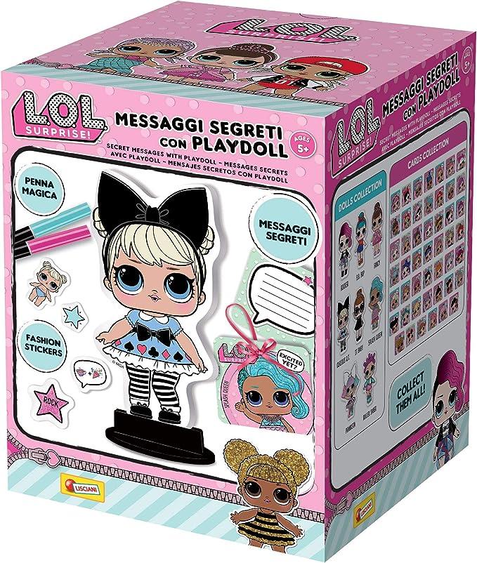 Lisciani Giochi – Surprise mensajes Segreti con playdoll, multicolor, 69460, color/modelo surtido: Amazon.es: Juguetes y juegos