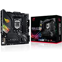 ASUS ROG Strix Z490-G Gaming (WiFi 6) Z490 LGA 1200 (Intel® 10th Gen) SFF Micro ATX Gaming Motherboard (12+2 power…