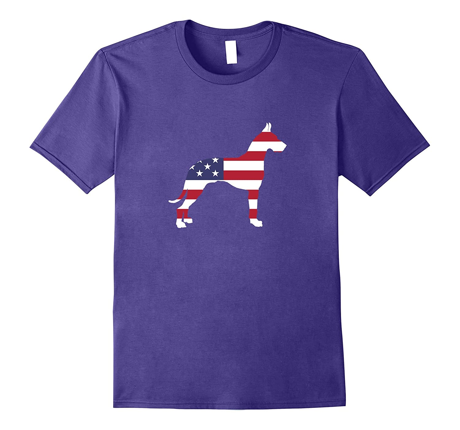 4th Of July Patriotic Dog Great Dane Party T-Shirt-Art