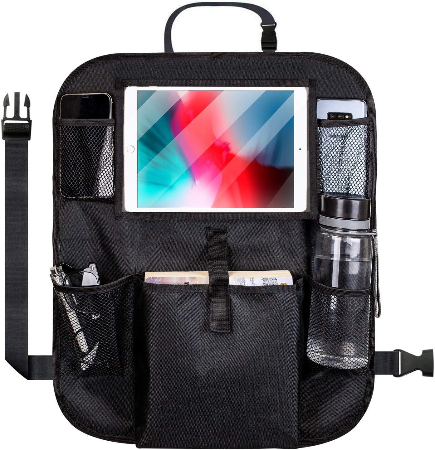 Olixar - Organizador para Asiento de Coche (25,4 cm), Color Negro