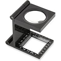 Carson LinenTest 5x30mm or 6.5x20mm Thread Counting Magnifiers (LT-20, LT-30)