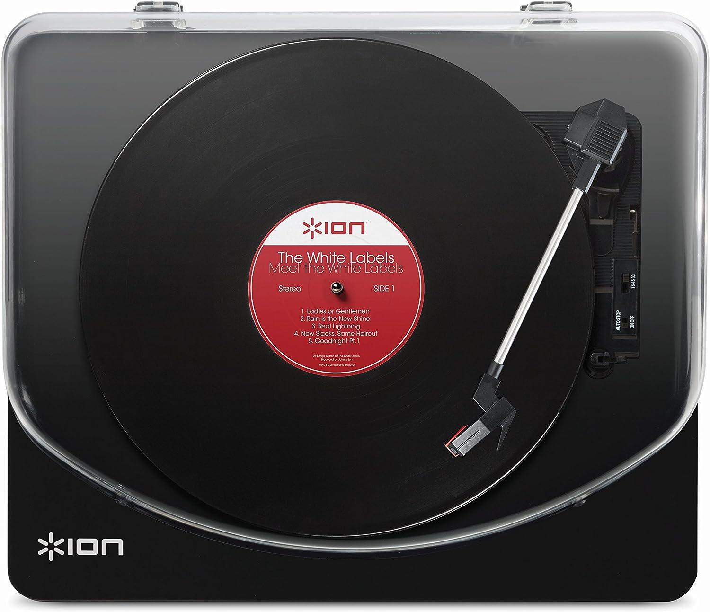 ION Audio Classic LP - Plato giradiscos con convertidor, reproduce ...