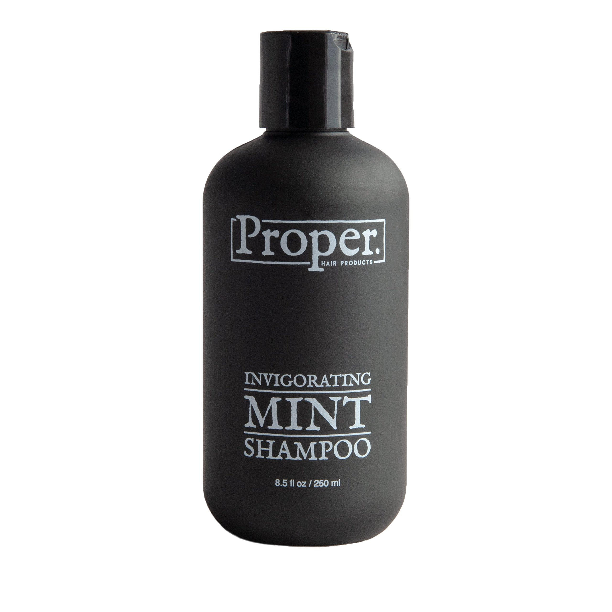 Men Shampoo - Salon Quality with Tea Tree Oil and Peppermint Oil Infusion to Alleviate Dandruff, Itchy or Dry Scalp, Hair Loss and Thinning Hair - Professional Stylist Recommended - Made in USA by Proper Hair Products