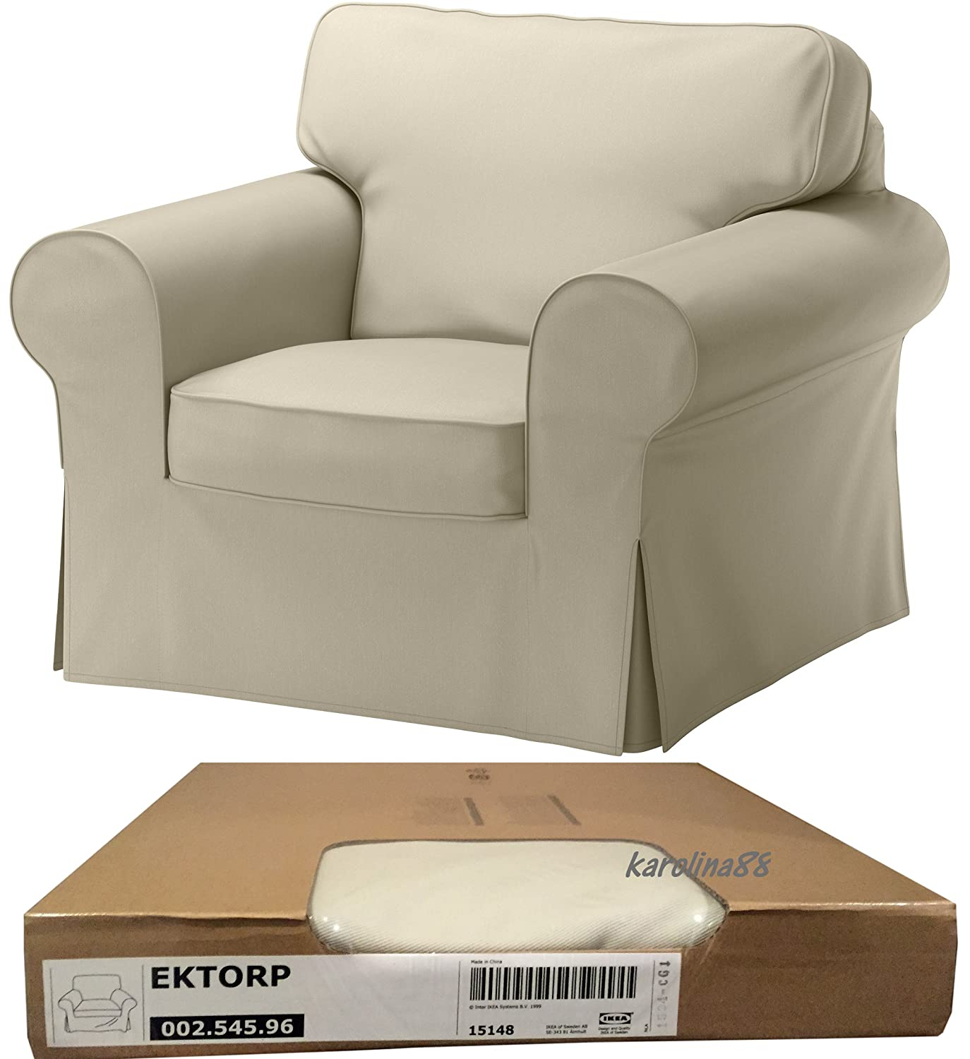 Amazon Ikea Ektorp Chair Cover Tygelsjo Beige Cover ly
