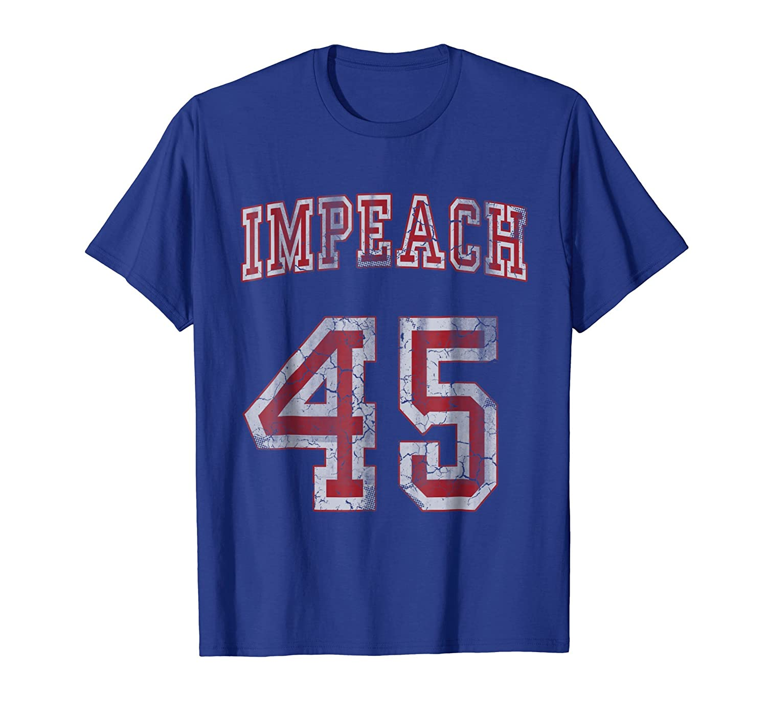 Impeach 45 Anti Trump T-Shirt Not My President Shirt-mt