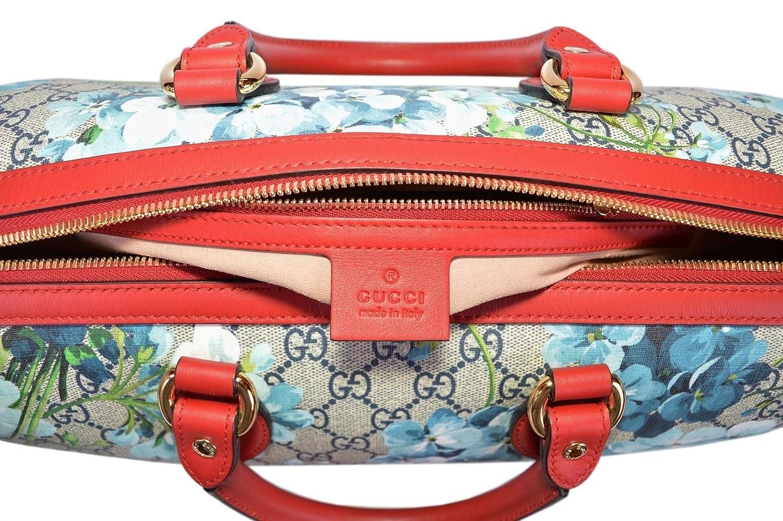 f2aafb2731f28 Gucci Women s GG Supreme BLOOMS Convertible Boston Bag  Amazon.ca  Shoes    Handbags